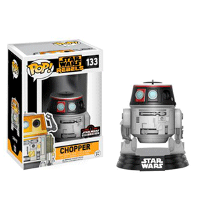 Figura Pop Star Wars Celebration: Chopper SWC