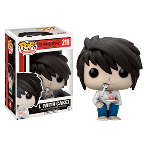 Figura Pop Death Note: L con Pastel Ed. Limitada