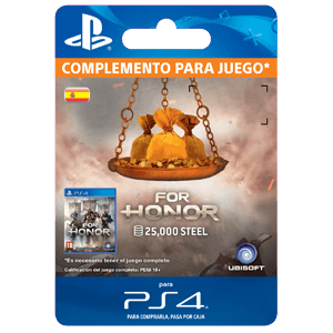 For Honor 25.000 Steel Credits Pack PS4
