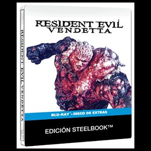 Resident Evil Vendetta Steelbook + BD Extras