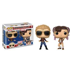 Pack Figuras Pop Marvel vs Capcom: Captain Marvel vs Chun-Li