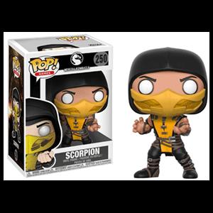 Figura Pop Mortal Kombat: Scorpion
