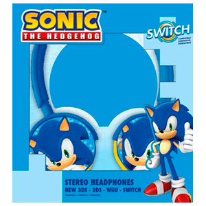 Auriculares Sonic NSW-3DS-Wii