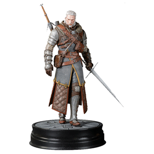 Figura The Witcher 3: Geralt con Armadura Osuna 20cm