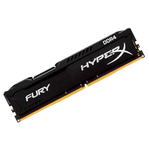Kingston HyperX Fury Negro DDR4 8GB 2400Mhz CL15
