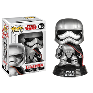 Figura Pop Star Wars VIII: Capitán Phasma