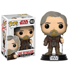 Figura Pop Star Wars VIII: Luke Skywalker
