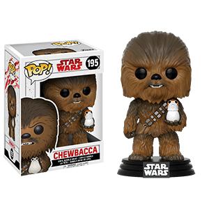 Figura Pop Star Wars VIII: Chewbacca