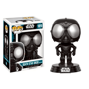 Figura Pop Star Wars Rogue One: Death Star Droid Black
