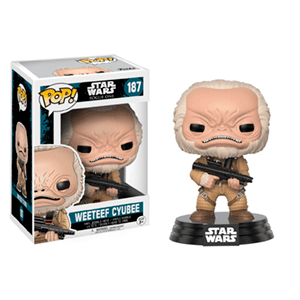 Figura Pop Star Wars Rogue One: Weeteef Cyubee