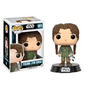 Figura Pop Star Wars Rogue One: Jyn Erso Niña