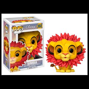 Figura Pop El Rey Leon: Simba con Corona de Hojas