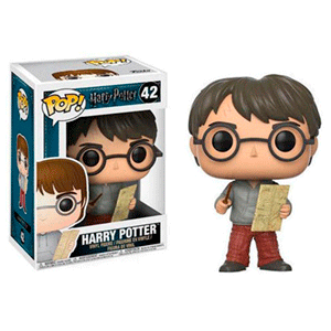 Figura Pop Harry Potter: Harry con Mapa del Merodeador