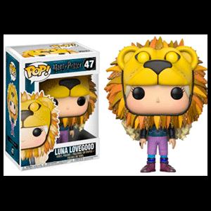 Figura Pop Harry Potter: Luna Lovegood con Cabeza de León
