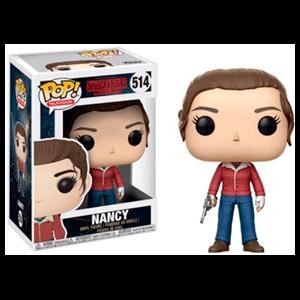Figura Pop Stranger Things: Nancy con Pistola
