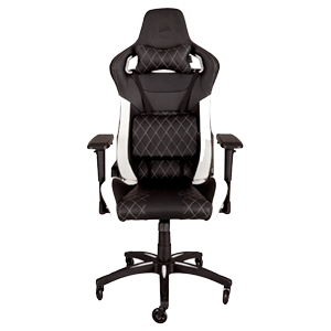 Corsair T1 Race Negro - Blanco