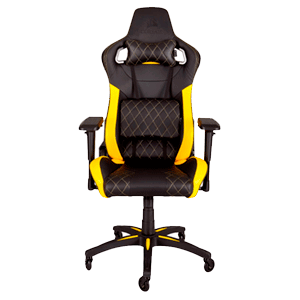 Corsair T1 Race Negro- Amarillo