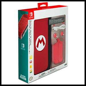 Starter Kit Mario para Nitendo Switch -Licencia Oficial-