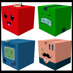 Caja recortable Unbox Newbies Adventure