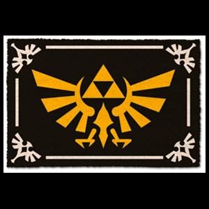 Felpudo Zelda: Trifuerza
