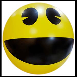 Pelota de playa Pac-Man