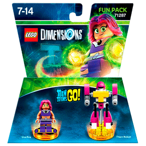 LEGO Dimensions Fun Pack: Teen Titans GO