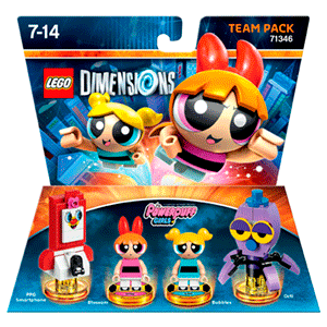 LEGO Dimensions Team Pack: Powerpuff Girls