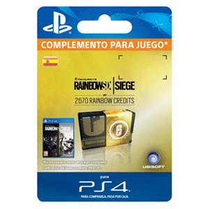Rainbow Six Siege 2670 Credit Pack PS4