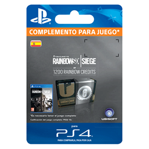 Rainbow Six Siege 1200 Credit Pack PS4