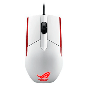 ASUS ROG Sica White 5000 DPI LED Rojo - Ratón Gaming
