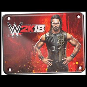 WWE 2K18 - Placa metálica