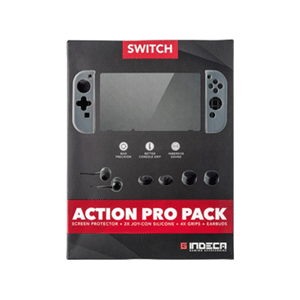 Action Pro Pack para Nintendo Switch Indeca