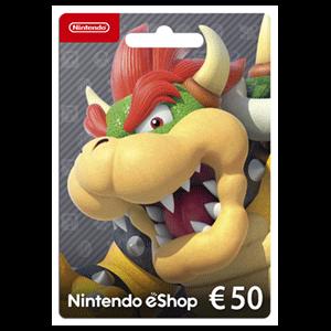 Pin Prepago Nintendo eShop 50 Euros