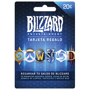 Pin Blizzard Battle.net 20 Euros