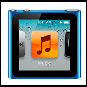 iPod Nano 6ª Gen 8Gb (Azul)