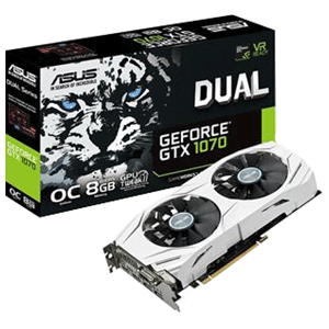 Asus Dual GeForce GTX 1070 OC 8GB