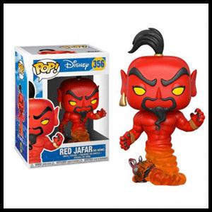 Figura Pop Disney: Jafar (Rojo)