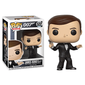 Figura Pop James Bond: Roger Moore