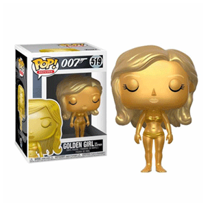 Figura Pop James Bond: Golden Girl