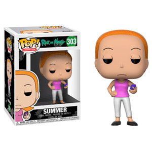 Figura Pop Rick y Morty S3: Summer