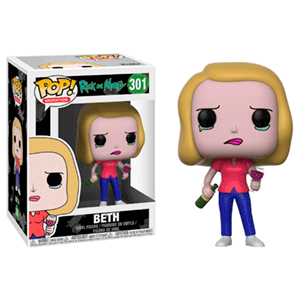 Figura Pop Rick y Morty S3: Beth