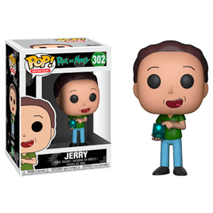 Figura Pop Rick y Morty S3: Jerry