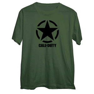 Camiseta Call of Duty WWII Star Chest Talla M