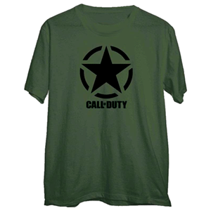 Camiseta Call of Duty WWII Star Chest Talla L