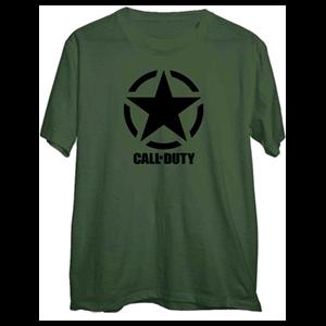 Camiseta Call of Duty WWII Star Chest Talla XL