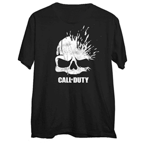 Camiseta Call of Duty WWII Xploding Skull Talla M