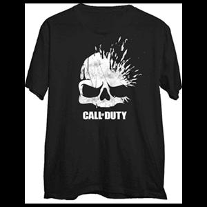 Camiseta Call of Duty WWII Xploding Skull Talla L