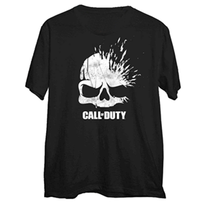 Camiseta Call of Duty WWII Xploding Skull Talla XL