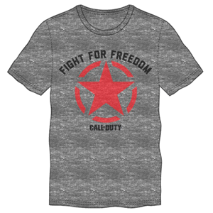 Camiseta Call of Duty WWII Fight for Freedom Talla XL