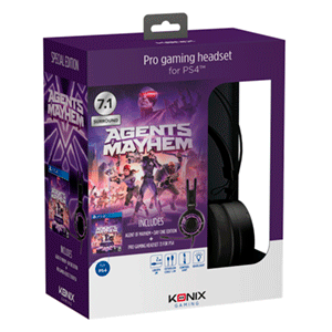 Agents of Mayhem Retail Edition + Auriculares